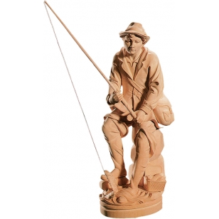 Statue fisherman