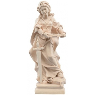 Statue of St. Susan with a...