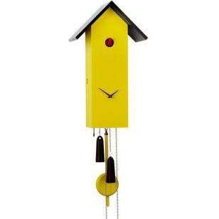 Cuckoo clock Bird House Simple Line 35 SL Haas & Rombach