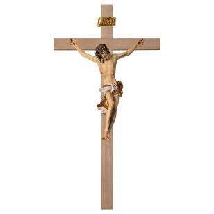 Drevený kríž hladký Barok