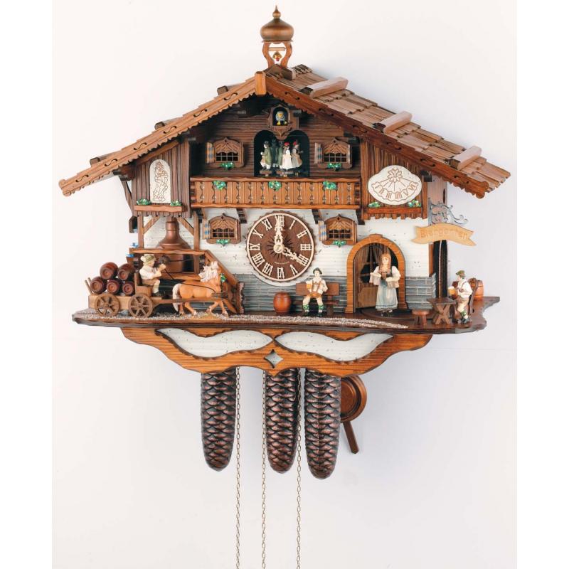 Zegar z kukułką Schneider ogródek piwny