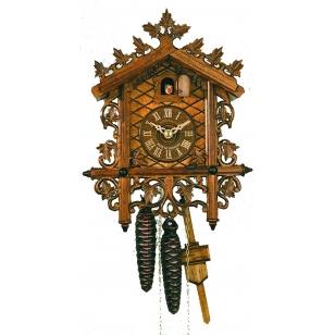 Kukučkové hodiny Hekas 1619 EX