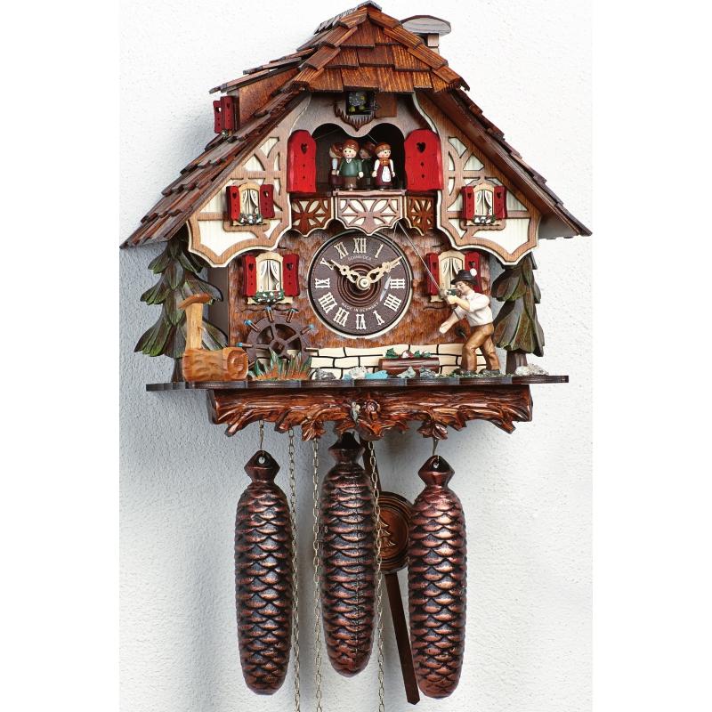 Rybář Schneider kukačkové hodiny