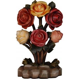 Drevená kytica ruží