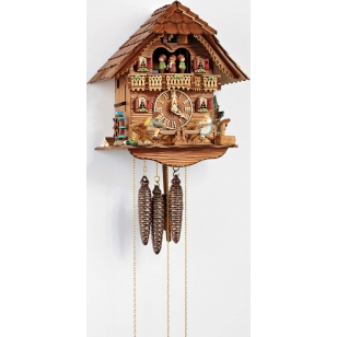 Cuckoo clock and swing kids