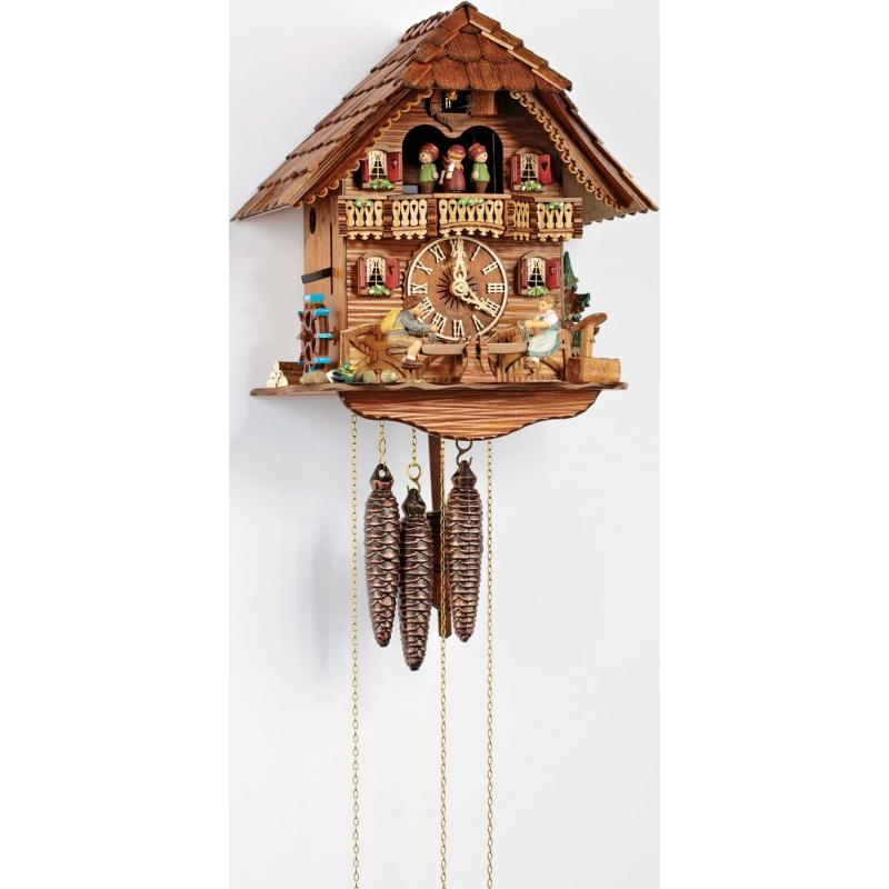 Cuckoo clock and swing kids