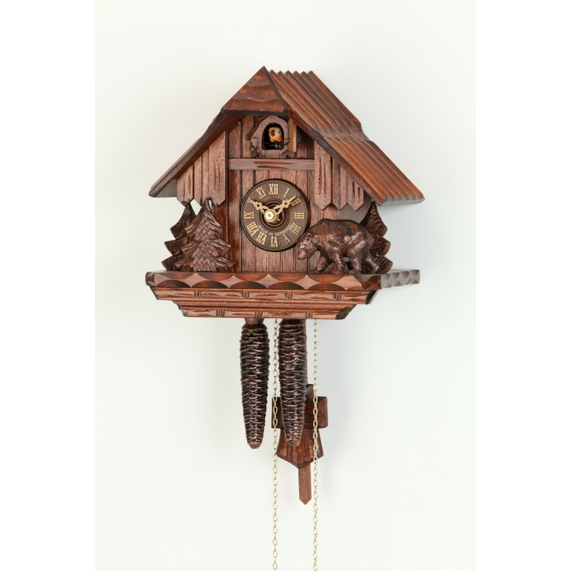 Kukučkové hodiny Hekas 1644 EX Medveď