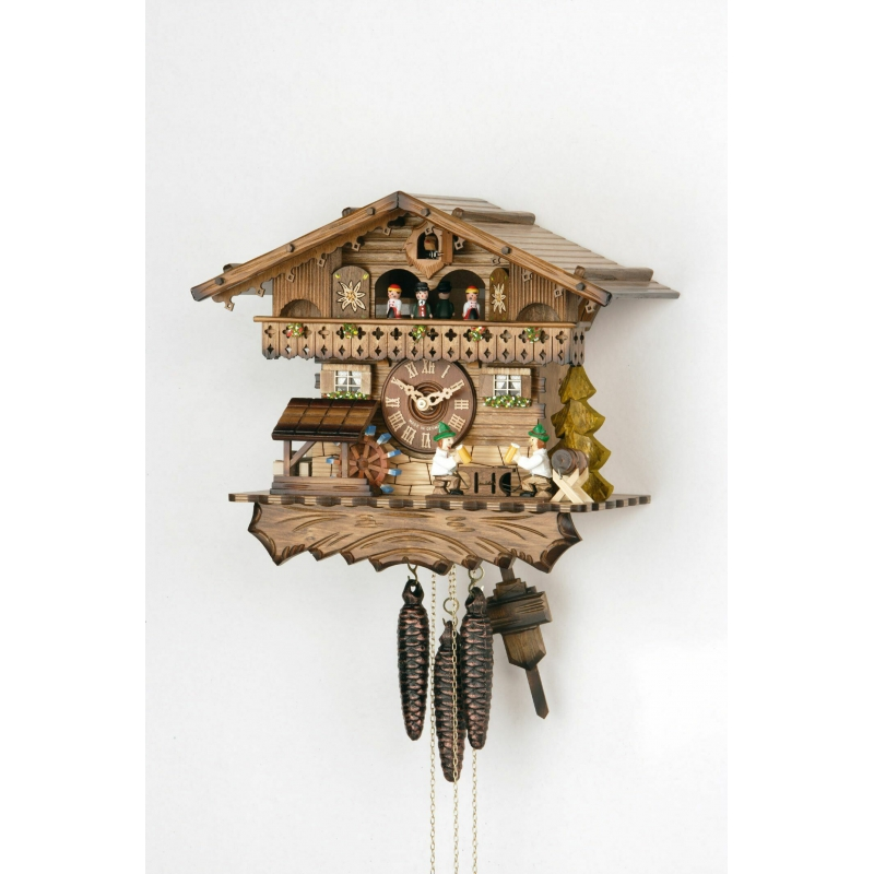 Kukučkové hodiny HEKAS 3622 EX Bavorský dom