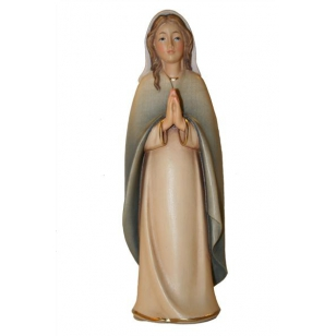 Drevená socha Mária sa...