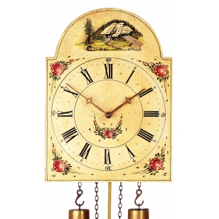 Shield pendulum clock Romba...