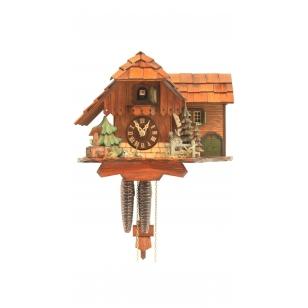 Kukučkové hodiny Rombach & Haas 1109 chata s prístavbou