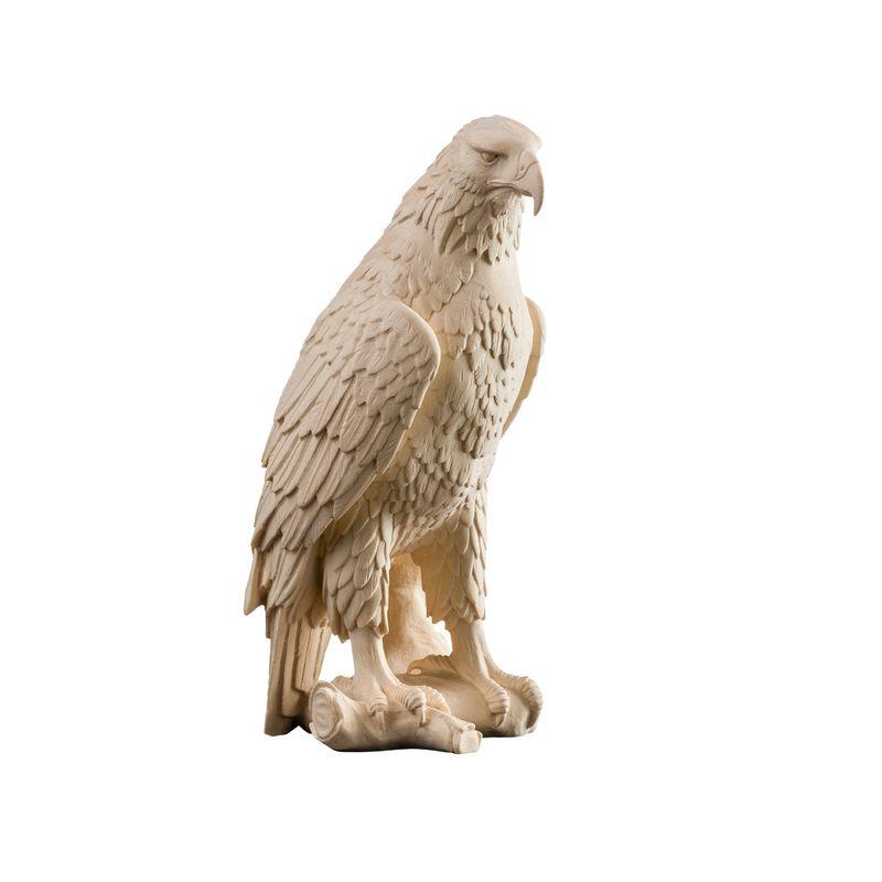 Drevená socha orol kráľovský