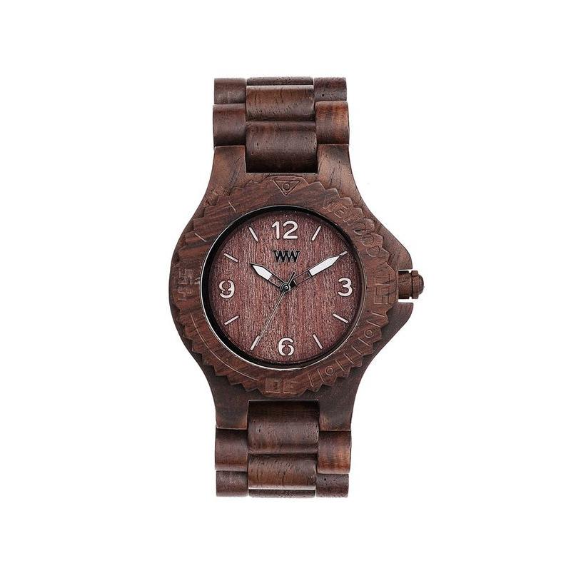 Náramkové hodinky WeWOOD KALE Choco White