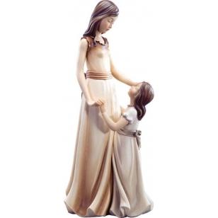 Kobieta z małą dziewczynką