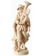 Drevené sochy ručne vyrezávané.
