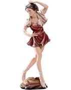 Drevené sochy znázorňujúce ženu na predaj